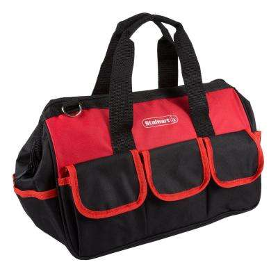 14 in. Tool Bag with Wide-Mouth Storage