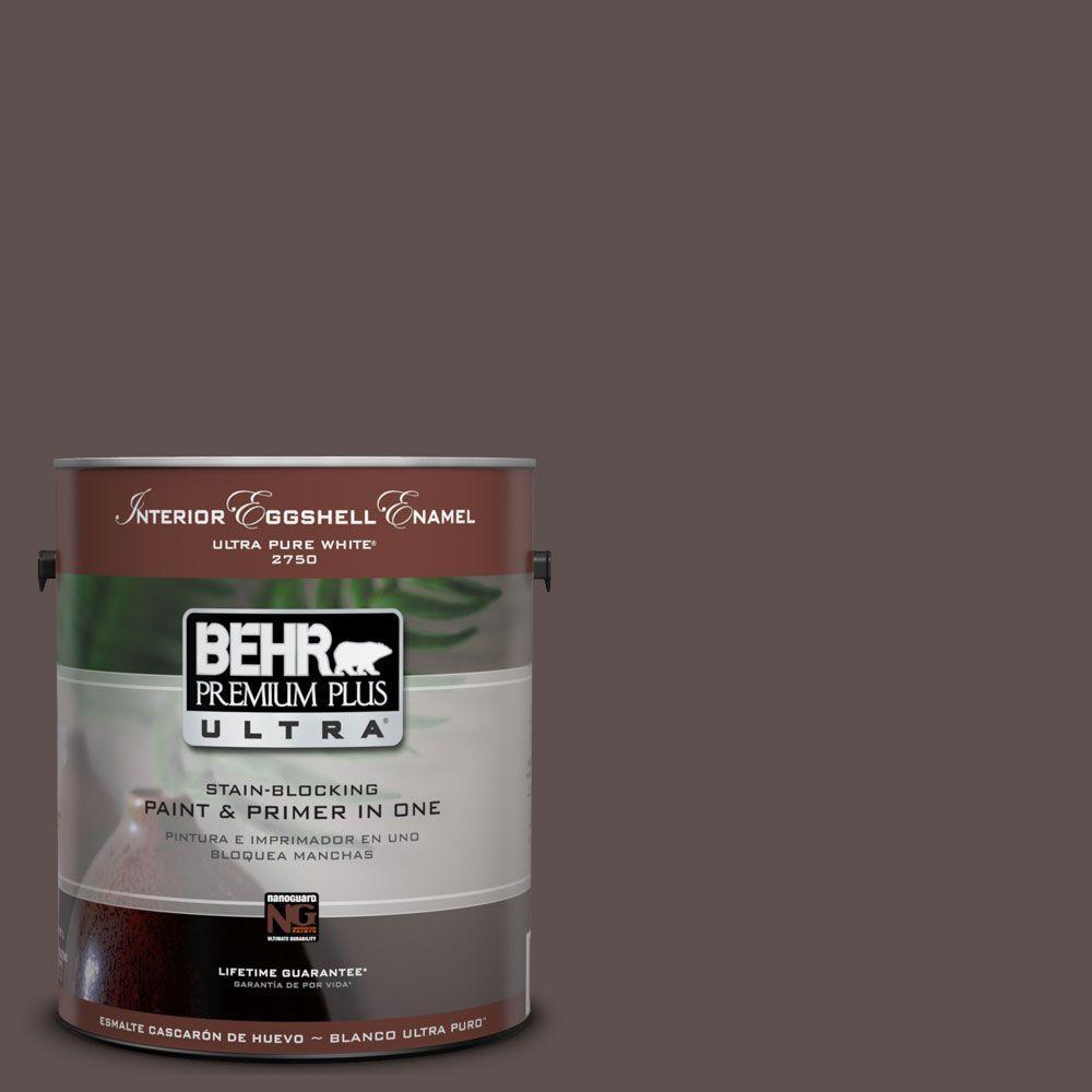 BEHR Premium Plus Ultra 1-Gal. #UL130-1 Scented Clove Interior Eggshell Enamel Paint
