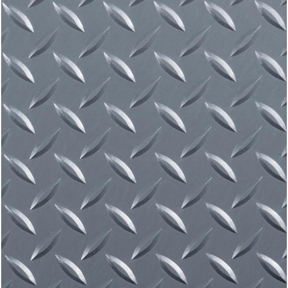 This Review Is From Diamond Tread 8 5 Ft X 22 Slate Grey Commercial Grade Vinyl Garage Flooring Cover And Protector
