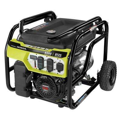 6,500-Watt Gasoline Powered Portable Generator with Honda GX390 Engine