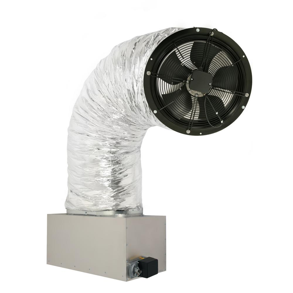 3242 CFM (HVI-916 Certified Rating) Whole House Fan Includes 2-Speed Remote