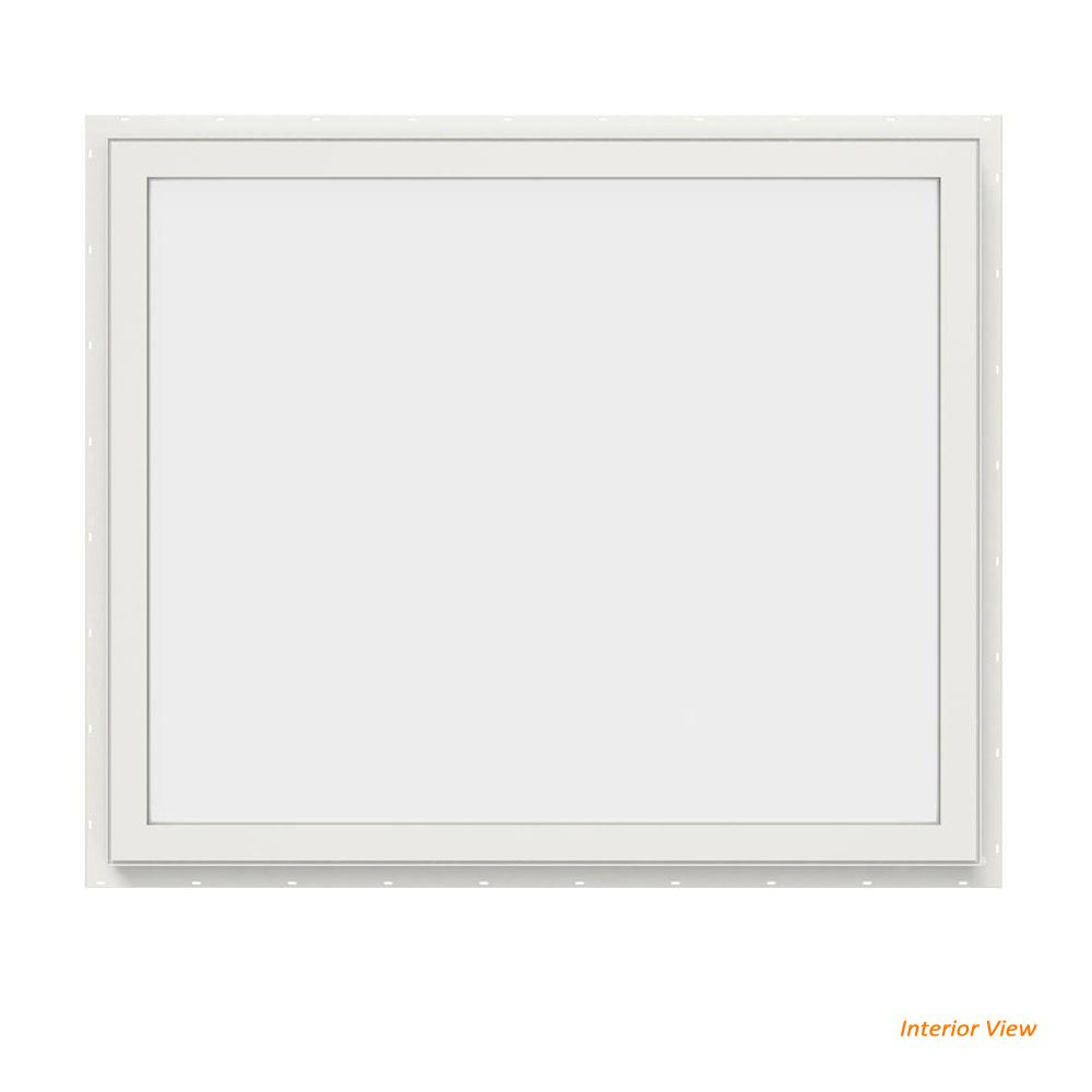 35.5 in. x 29.5 in. V-4500 Series Black Painted Vinyl Picture