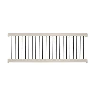 Bellaire 3.5 ft. H x 6 ft. W Tan Vinyl Railing Kit