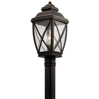 Tangier 1-Light Olde Bronze Outdoor Post Light