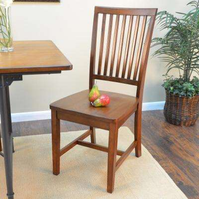 Hudson Chestnut Wood Dining Chair