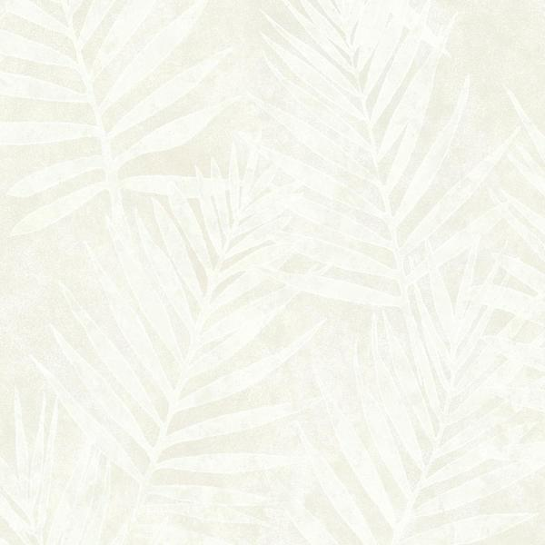 Brewster Grand Palms Blue Leaves Wallpaper ARB67532