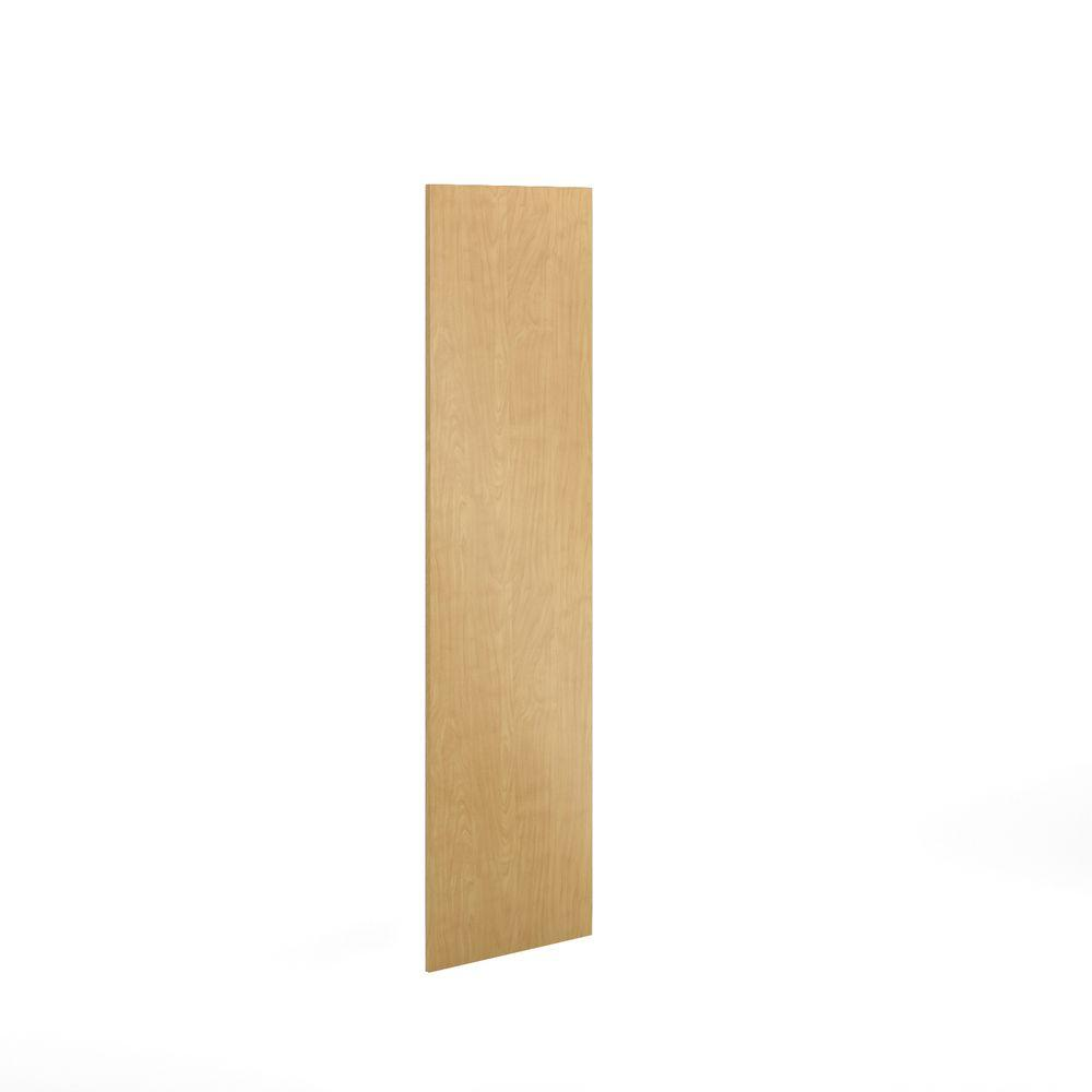 Eurostyle Xx In Replacement End Panel In Natural Maple - Replacing veneer on kitchen cabinets