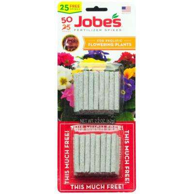Flowering Plant Fertilizer Spikes (50-Pack)