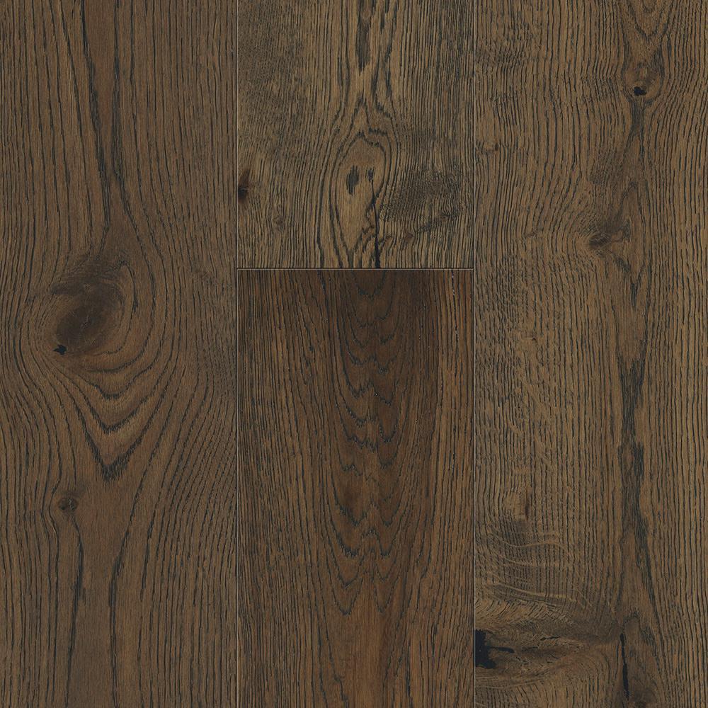 Sure+ Waterproof Flooring Weathered Oak 6.5 mm T x 6.5in.W x 48in.L Click Engineered Hardwood Flooring (21.67 sq.ft./case)
