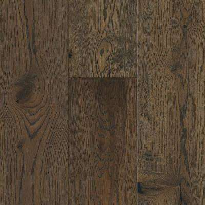 Waterproof Flooring Weathered Oak 6.5 mm T x 6.5in.W x 48in.L Click Engineered Hardwood Flooring (21.67 sq.ft./case)