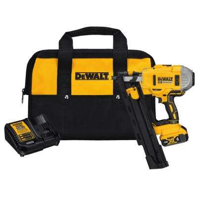 20-Volt MAX Lithium-Ion 21-Degree Cordless Framing Nailer
