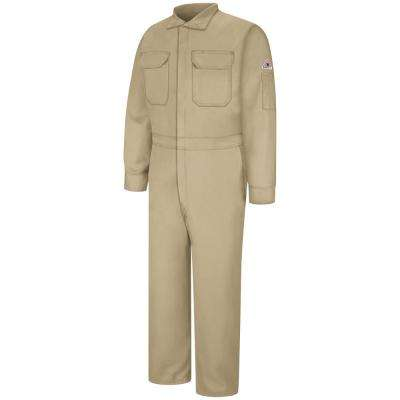 EXCEL FR ComforTouch Men's Size 44 (Tall) Khaki Premium Coverall