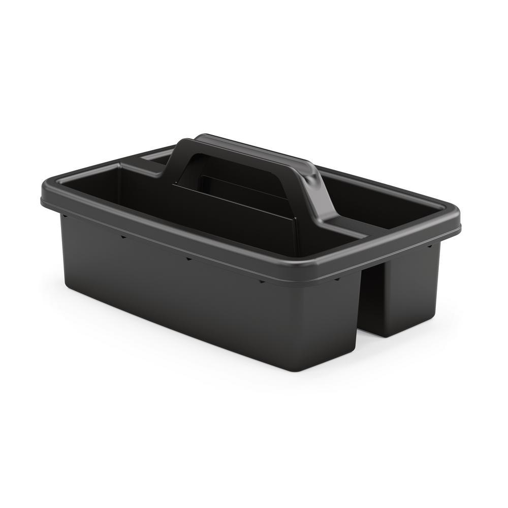 Housekeeping Cart Caddy, Black