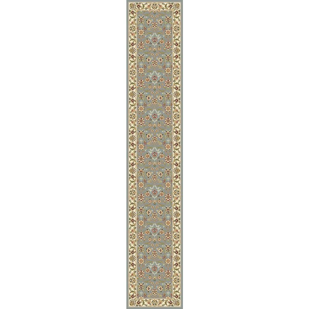 Safavieh Lyndhurst Light Blue/Ivory 2 ft. 3 in. x 14 ft. Runner