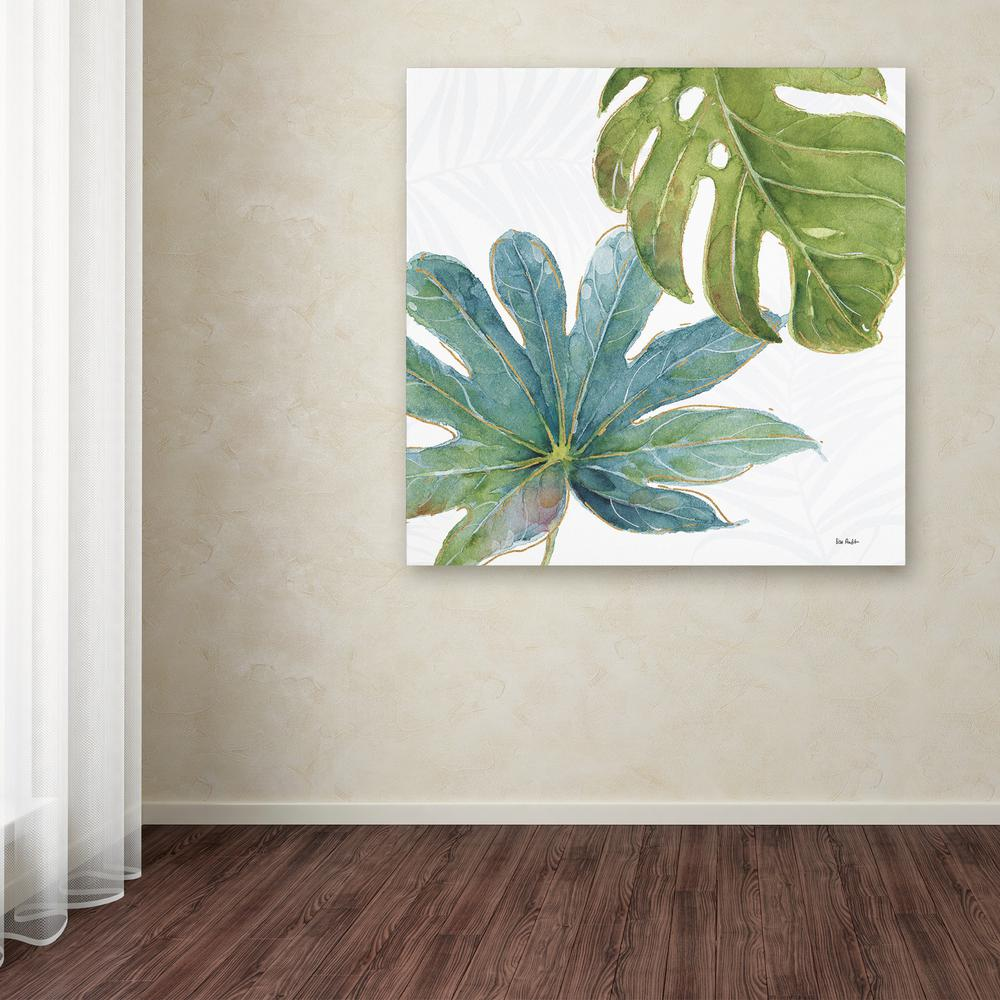 Trademark Fine Art 35 In X Tropical Blush Vii By