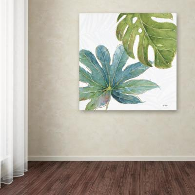 "35 in. x 35 in. ""Tropical Blush VII"" by Lisa Audit Printed Canvas Wall Art"