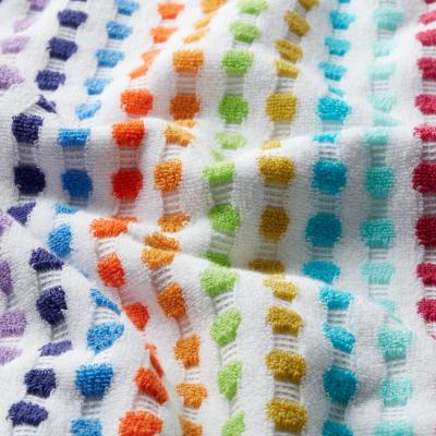Spectrum Geometric Cotton Single Towel