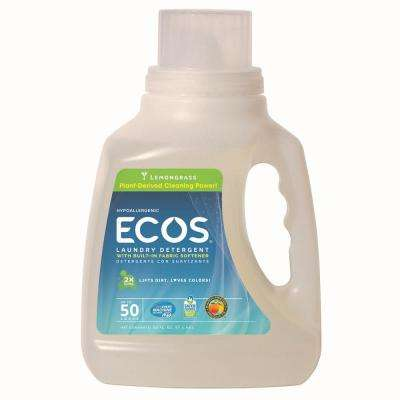 50 oz. Lemongrass Scented Liquid Laundry Detergent