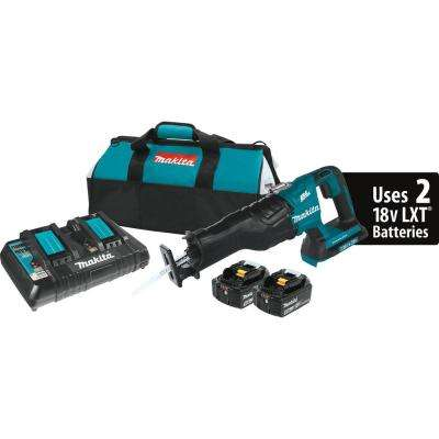 18-Volt X2 (36-Volt) 5.0Ah LXT Lithium-Ion Cordless Reciprocating Saw Kit with (2) Batteries 5.0 Ah, and Charger