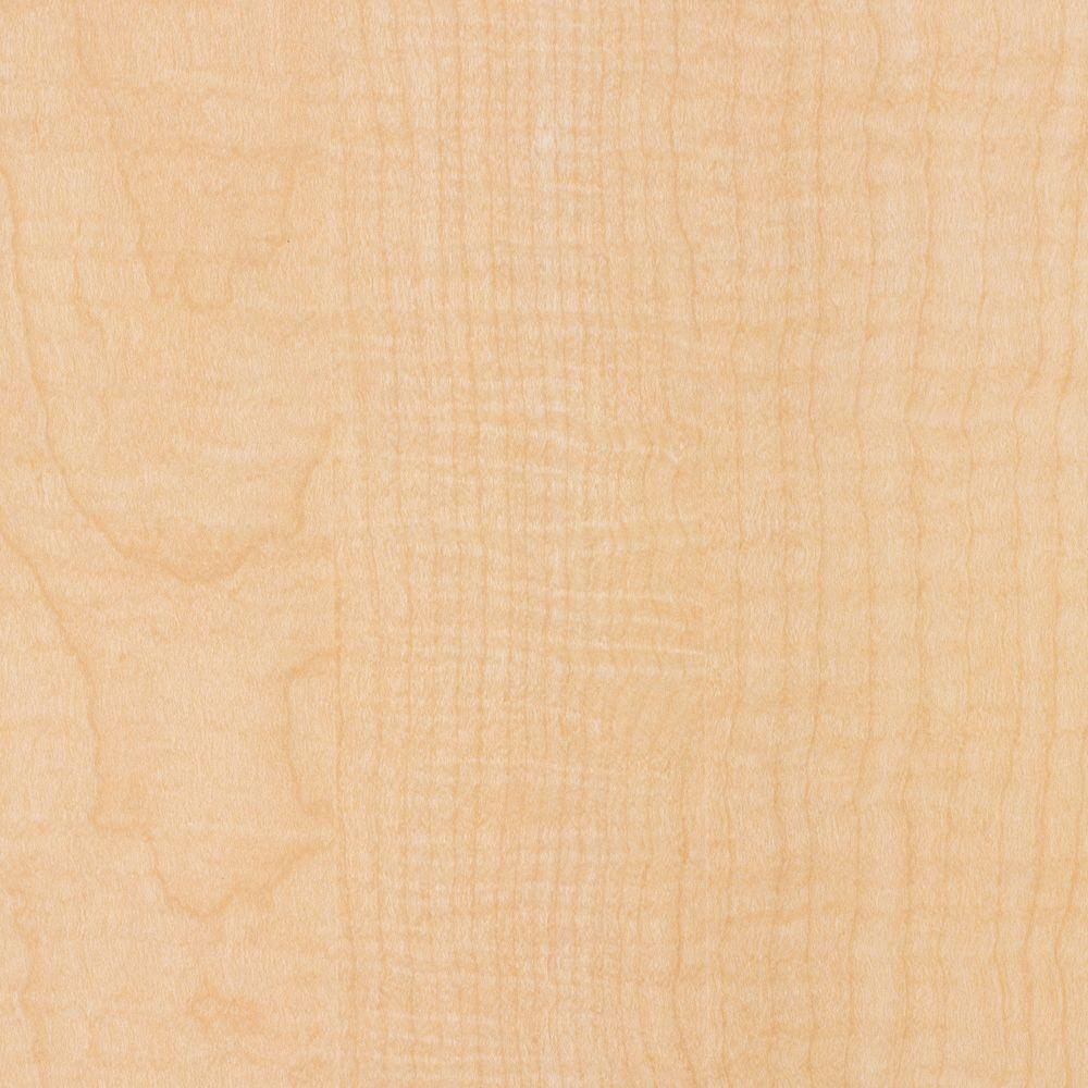 2 in. x 3 in. Laminate Countertop Sample in Fusion Maple