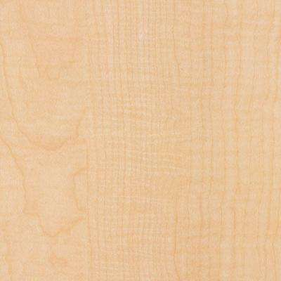 2 in. x 3 in. Laminate Countertop Sample in Fusion Maple with Standard Matte Finish