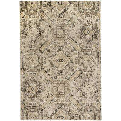 Channel Beige 5 ft. 3 in. x 7 ft. 6 in. Area Rug