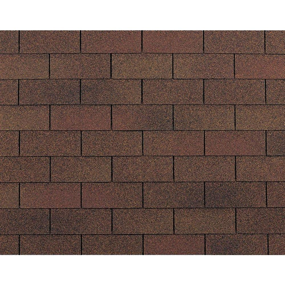 3 tab shingles red. Supreme Algae Resistant Autumn Brown 3-Tab Asphalt Roofing Shingles ( 33.3 3 Tab Red B
