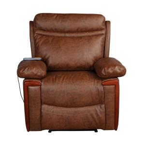 Fantastic Merax Brown Heating Vibrating Pu Leather Massage Recliner Ibusinesslaw Wood Chair Design Ideas Ibusinesslaworg