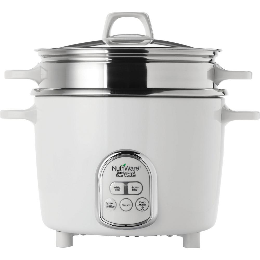 Nutriware 7-Cup Digital Pot Style Rice Cooker
