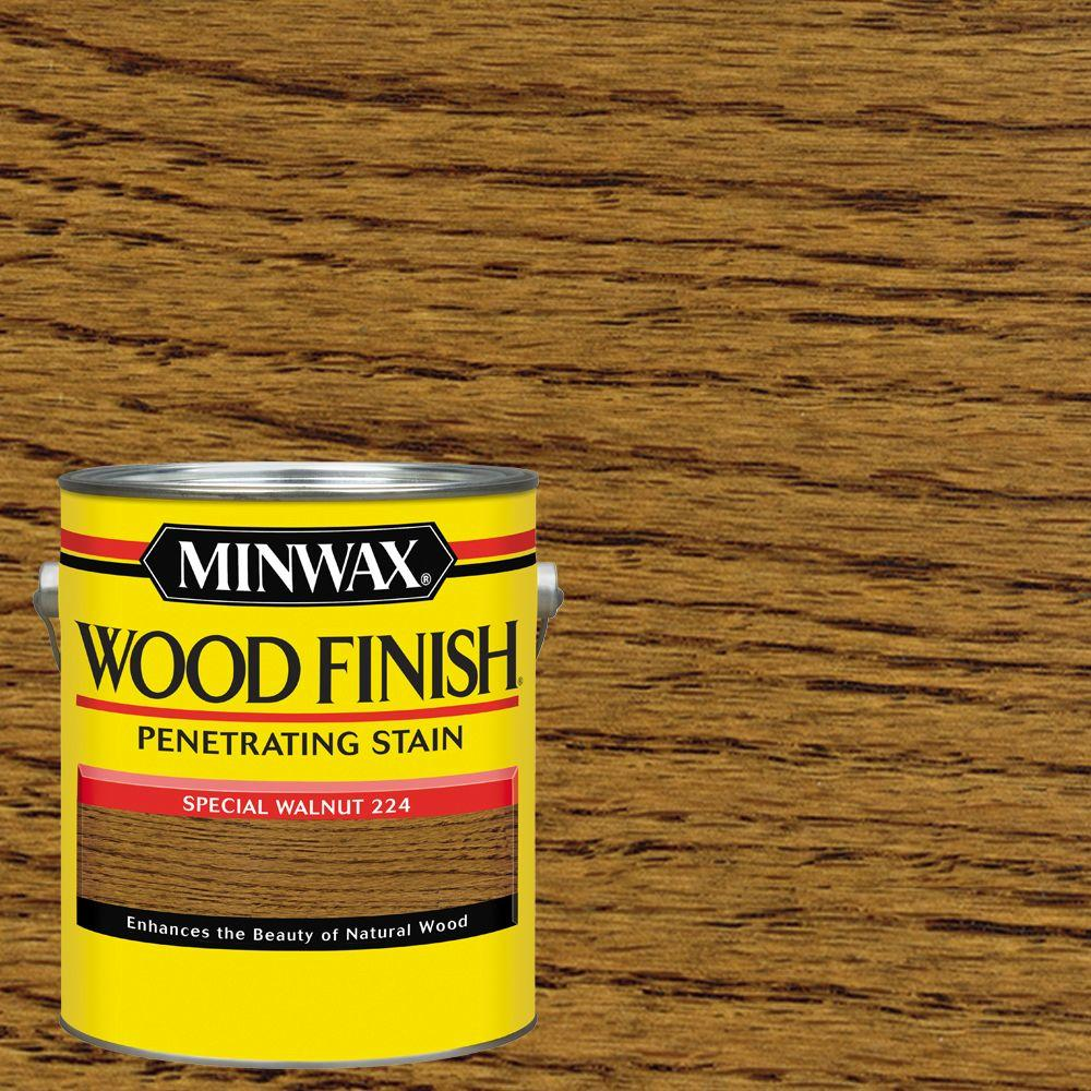 1 gal. Wood Special Walnut Oil Based Interior Stain (2-Pack)