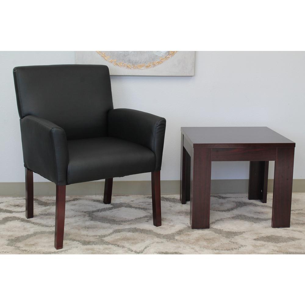 Boss Black Box Arm Guest Chair
