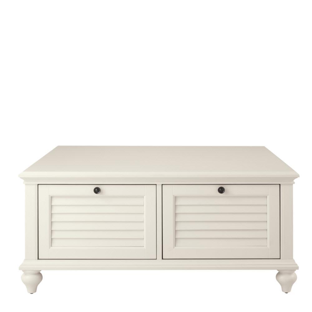 Home Decorators Collection Hamilton Polar White Coffee Table 9787400410    The Home Depot