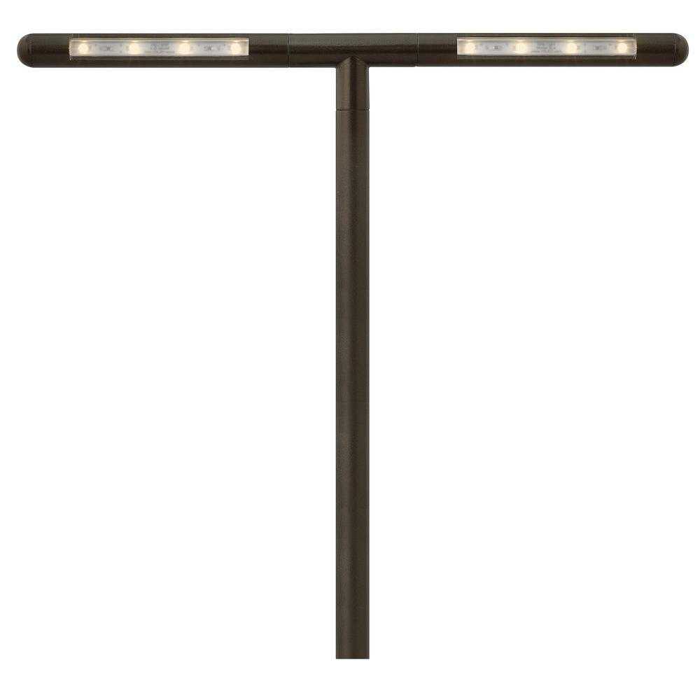 Hinkley Lighting Nexus 35-Watt Equivalent Low-Voltage Bronze LED T-Connector Path Light