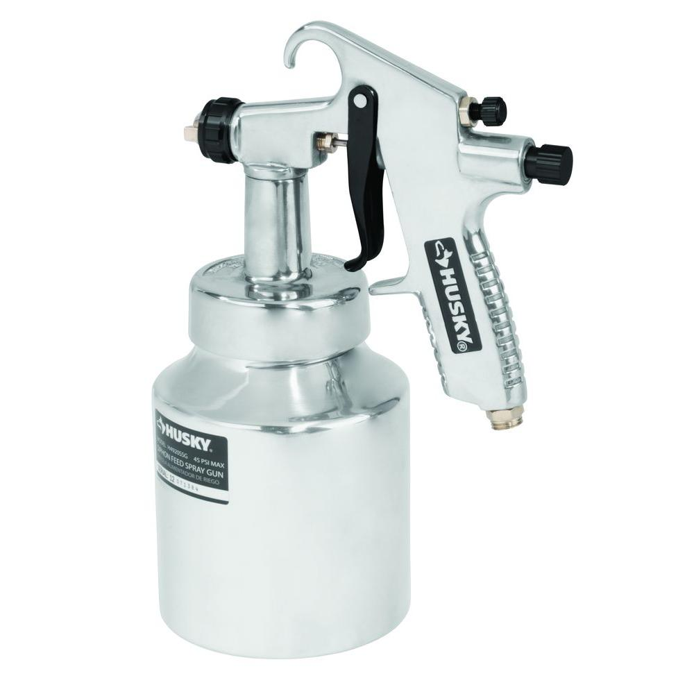 Amazing Paint Spray Tools Part - 2: Husky Siphon Feed General Purpose Spray Gun