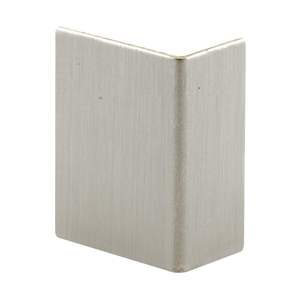 Prime Line Brushed Stainless Adhesive Backed Door Edge