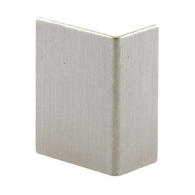 Brushed Stainless Adhesive Backed Door Edge Guard