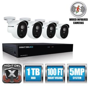absolutely smart owl items. Extreme HD 4 Channel 5MP 1 9TB HDD Surveillance Systems with PIR Cameras Night Owl 8 3MP Video Security DVR TB Hard