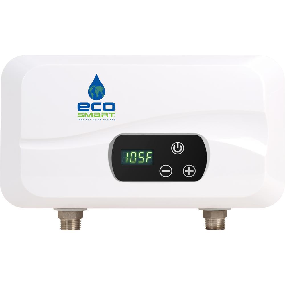 Electric Tankless Water Heater Pou 4t