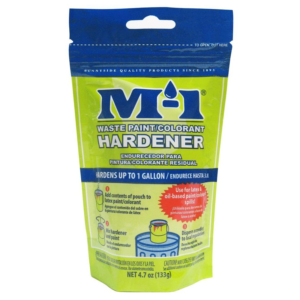 M-1 4.7 oz. Paint Hardener for Paint Disposal-DISCONTINUED