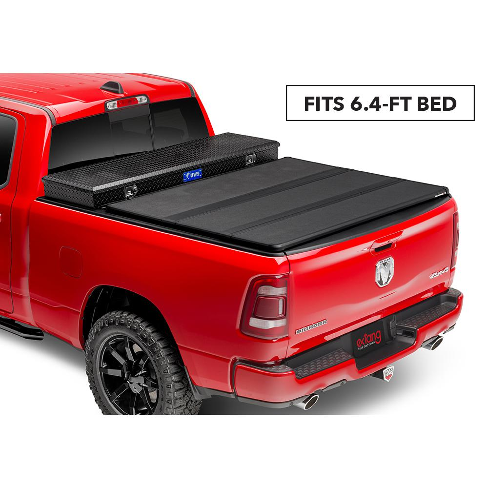 Extang Solid Fold 2 0 Toolbox Tonneau Cover 07 13 Toyota Tundra 6 6 Bed W Out Deck Rail System 84950 The Home Depot