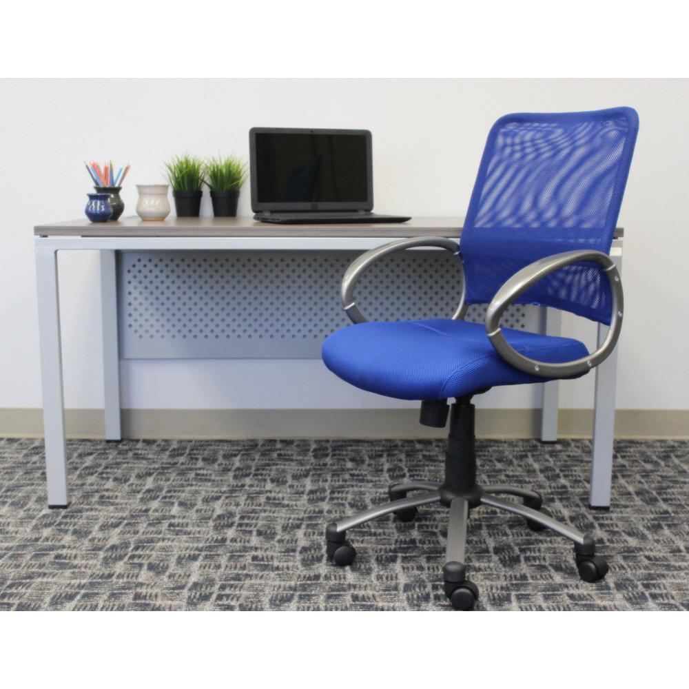 Blue Mesh Back Task Chair Vibrant