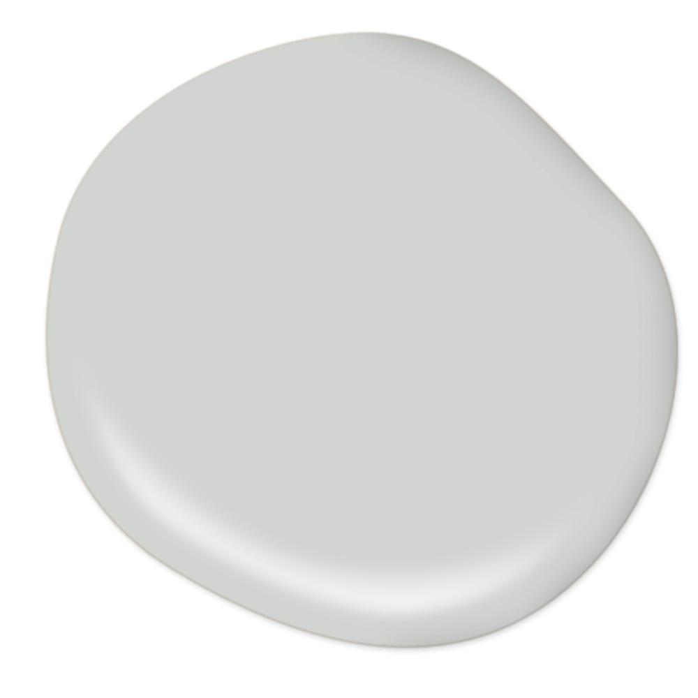 Behr Sterling interior paint color is a gorgeous quiet light grey with blue undertones. Come discover 9 Timeless Grey-Blue Paint Color Ideas For Quiet, Sophisticated Greys for Walls, Furniture and Trim! #paintcolors #bluegrey