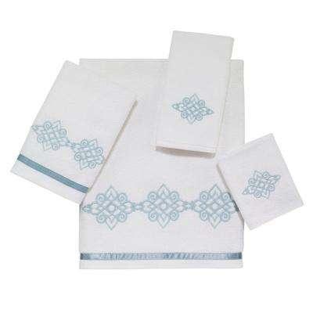 Riverview 4-Piece Bath Towel Set in White
