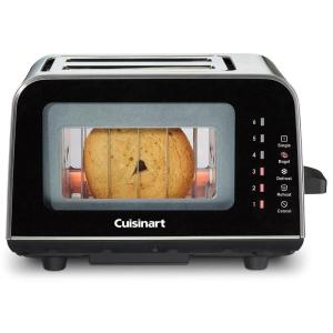 Click here to buy Cuisinart 2-Slice Black Toaster by Cuisinart.