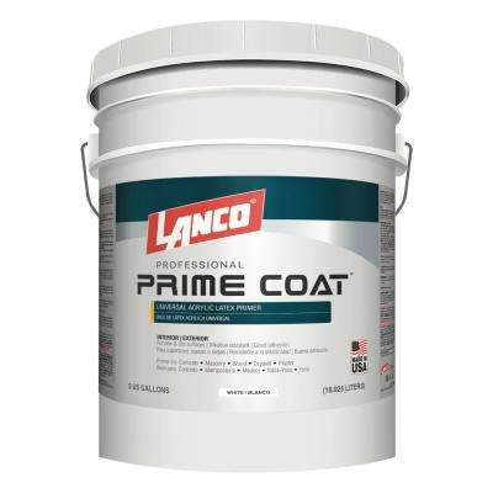 5 gal. Prime Coat Acrylic Latex Interior/Exterior Wall Primer