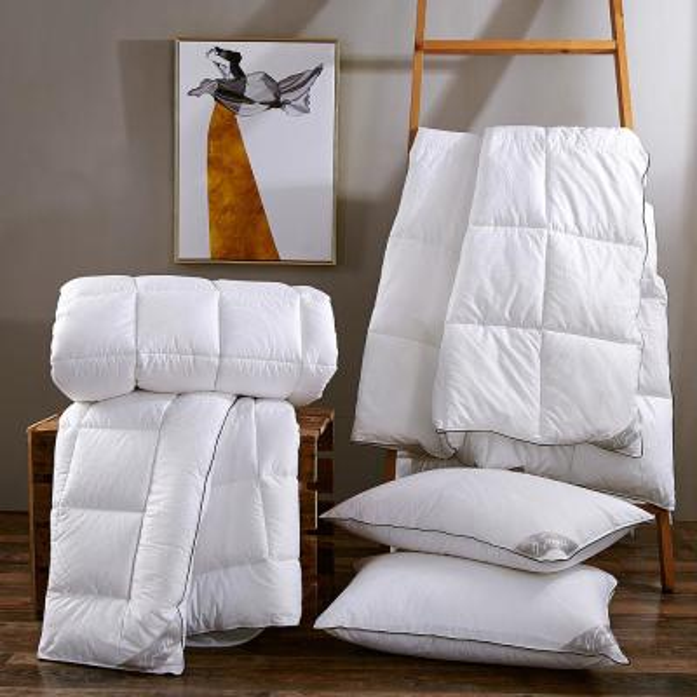 Hypoallergenic Down Alternative Jumbo Pillow (Set of 2)