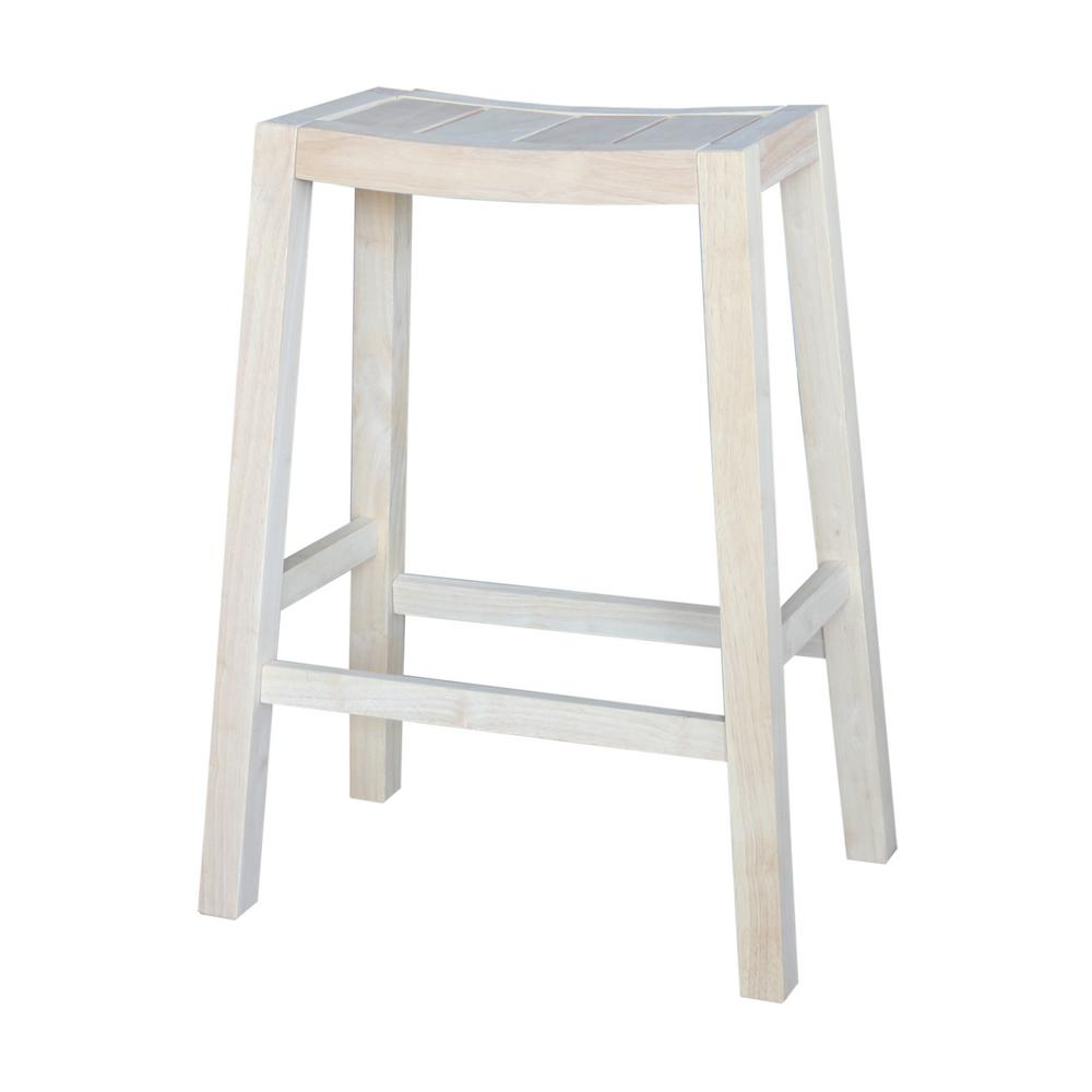 International Concepts Ranch 30 In Unfinished Bar Stool S