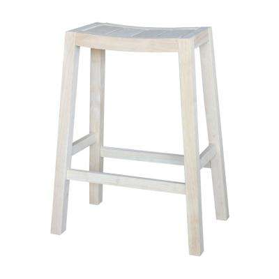 Ranch 30 in. Unfinished Bar Stool