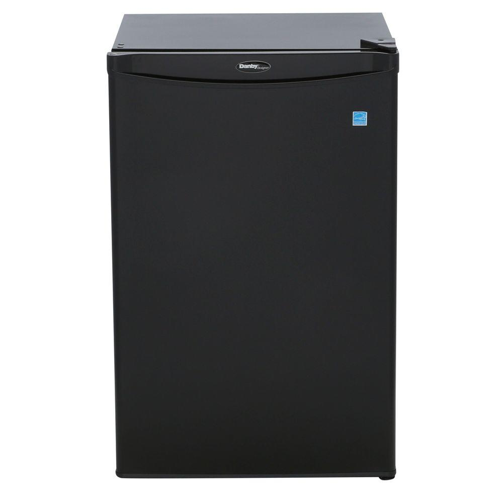 c8e85231719 Danby 4.4 cu. ft. Mini Fridge in Black-DAR044A4BDD-3 - The Home Depot