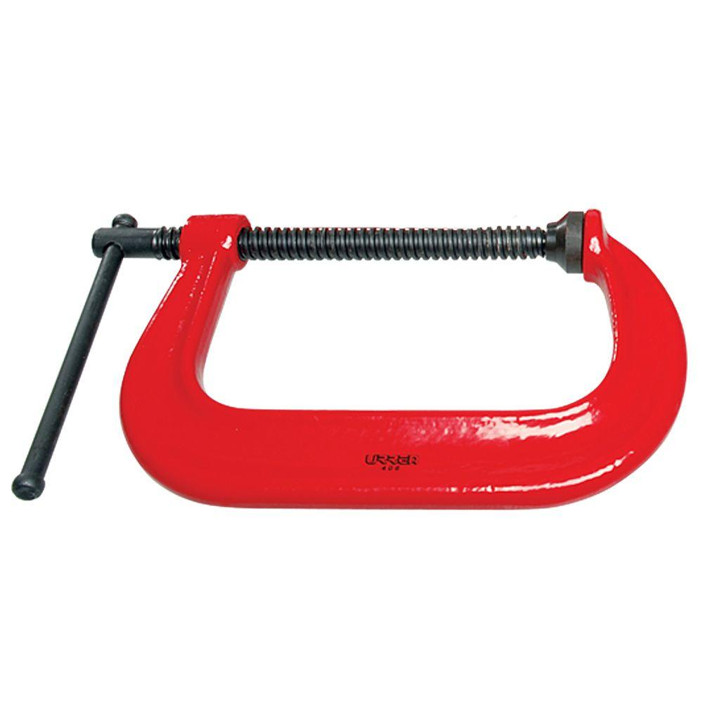 URREA URREA 4 in. Heavy Duty C-Clamp
